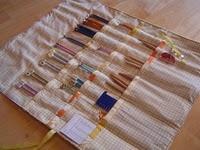 Knitting needle case - tutorial