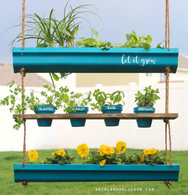 17 best images about outdoor vinyl on pinterest vinyls for Hanging vegetable garden ideas