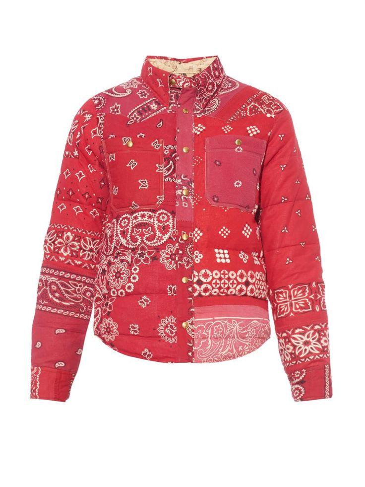 Visvim Kerchief paisley-print coat