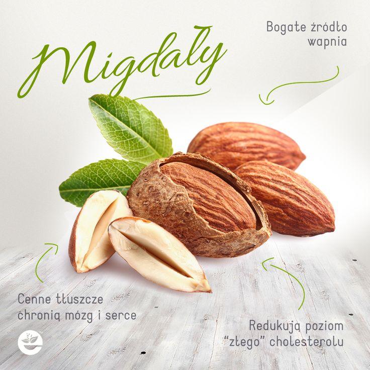 Zdrowe kalorie! | Healthy callories!  #econdimenta #infograph #almonds