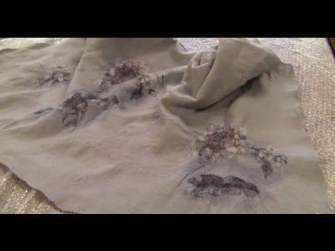 Как сделать красивый жакет из войлока