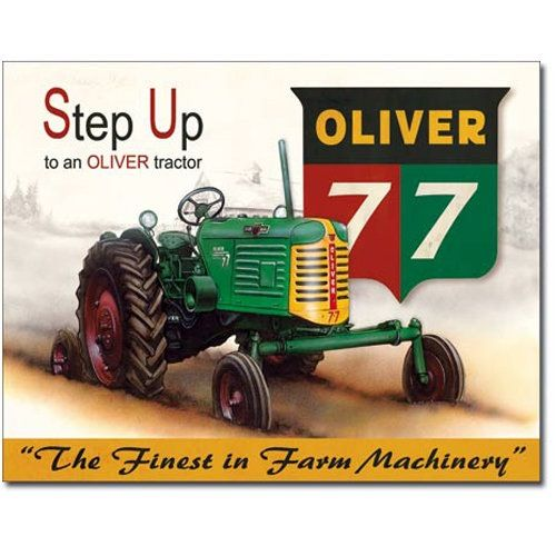 oliver 77 row crop serial number