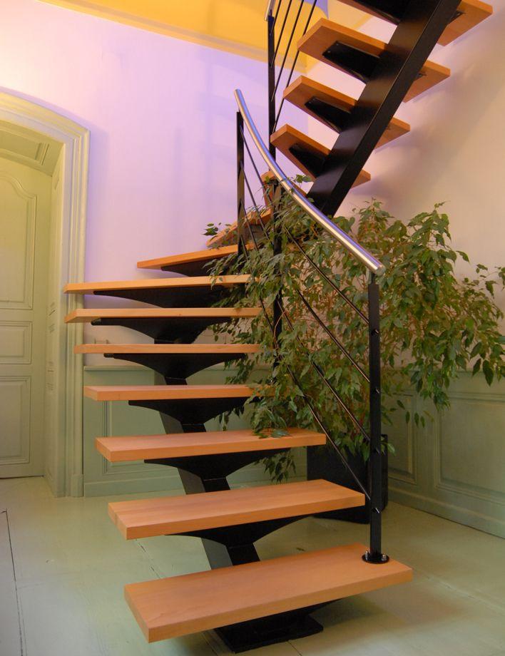 escalier demi tournant leroy merlin escalier demi. Black Bedroom Furniture Sets. Home Design Ideas