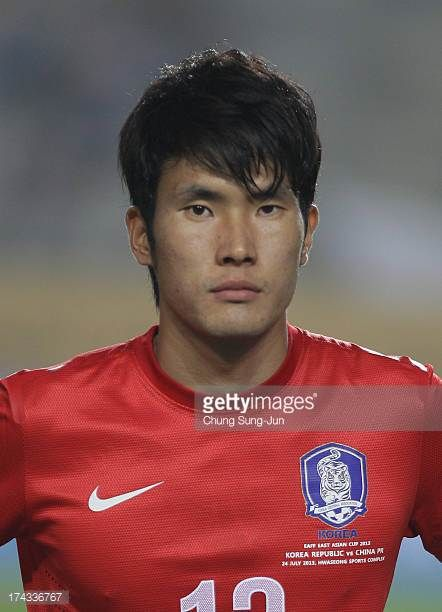 Han KookYoung of South Korea poses during the EAFF East Asian Cup match between Korea Republic and China at Hwaseong Stadium on July 24 2013 in...