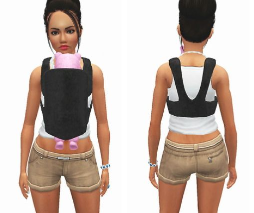 Baby carrier by Shmoopie - Sims 3 Downloads CC Caboodle