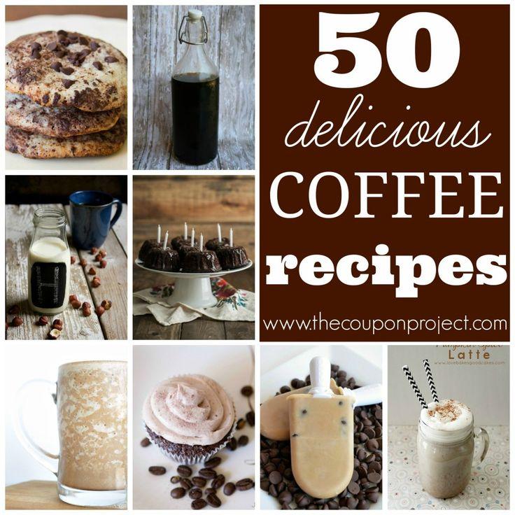 50 Delicious Coffee Recipes