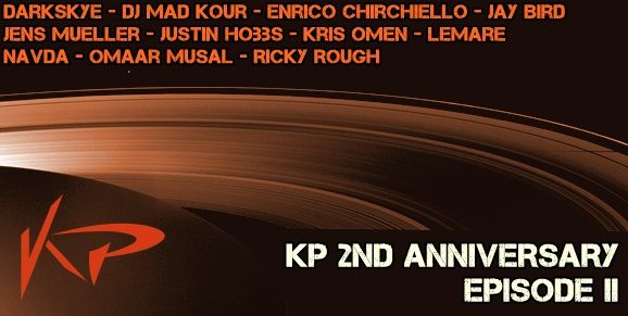 KP Recordings 2 Nd Anniversary EPISODE 2  Release Date on Beatport : Jul.25.2014