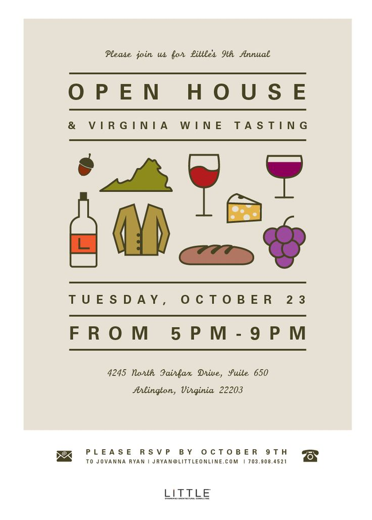 business open house invitation - Google Search