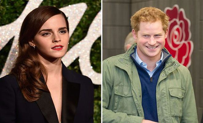Emma Watson Rubbishes Rumours Of Dating Prince Harry