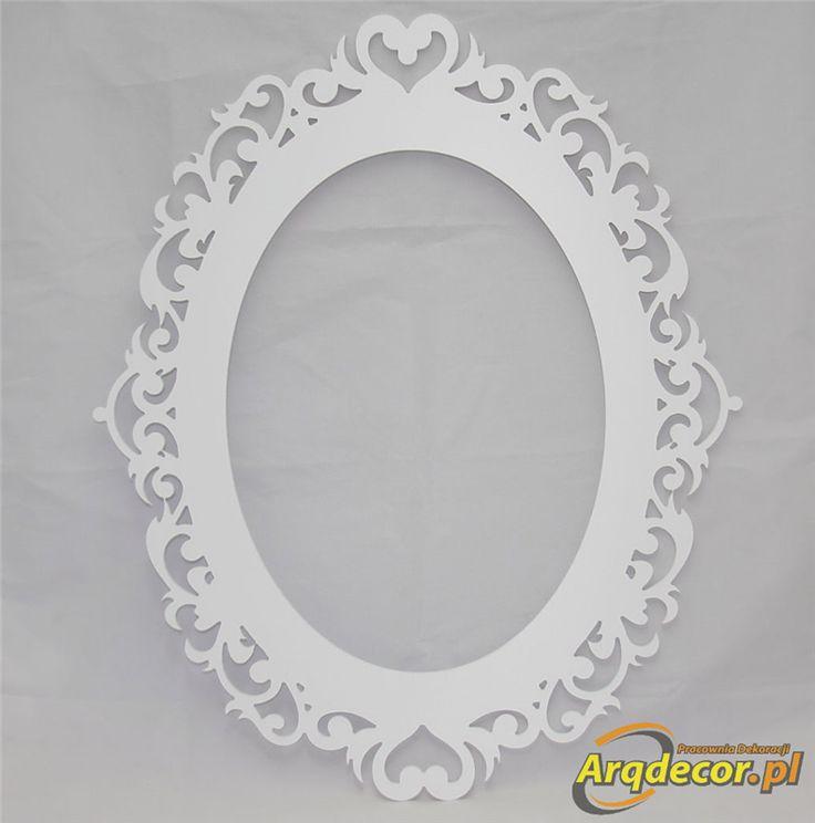 Pracownia Dekoracji ARQ - DECOR - Rama Ażurowa nr 01 (NA ZAMÓWIENIE) dekoracje ślubne, weselne