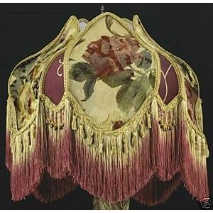 66 best victorian lamp shades images on pinterest victorian lamps victorian lamp shade croscill aloadofball Choice Image