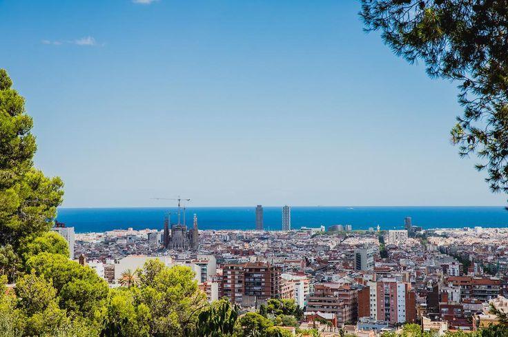 Barcelona - Park Guell views