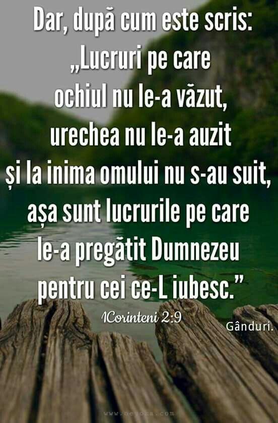 1 Corinteni 2:9 ☆