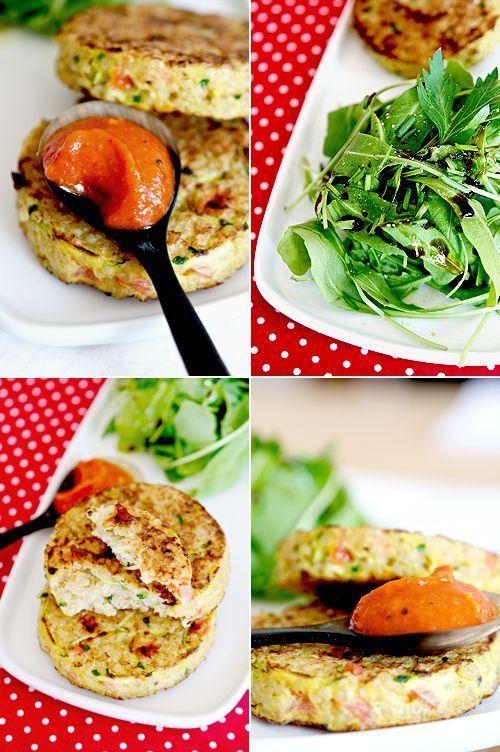 Galettes quinoa et petits légumes... A tester! (Source : B comme bon)