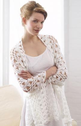 Hairpin Lace Shawl {free pattern}