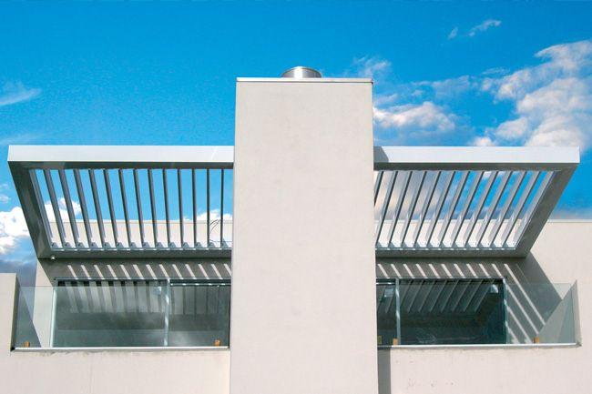 180 Classic Opening Roof - LouvreTec