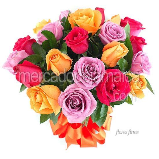 Florerias Polanco Rosas Fucsia Alessandra !| Envia Flores