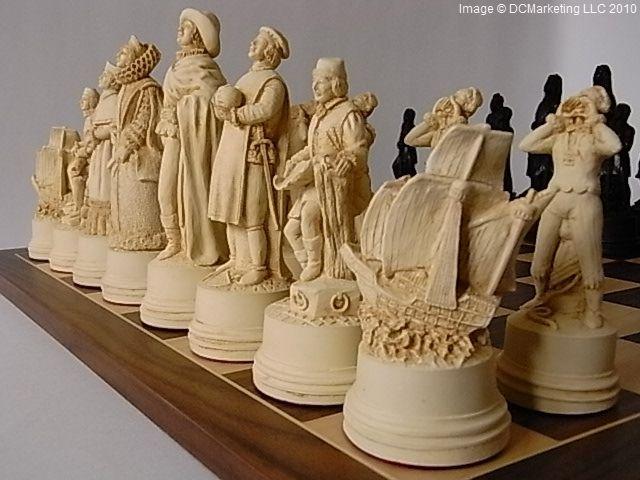 Historical Chess Sets   Theme Chess Sets   Beautiful Chess Sets