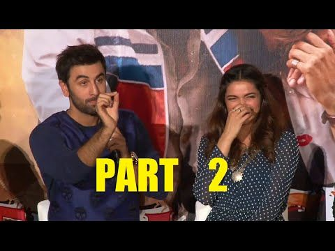 HILARIOUS pc | TAMASHA trailer launch | Ranbir Kapoor, Deepika Padukone | PART 2