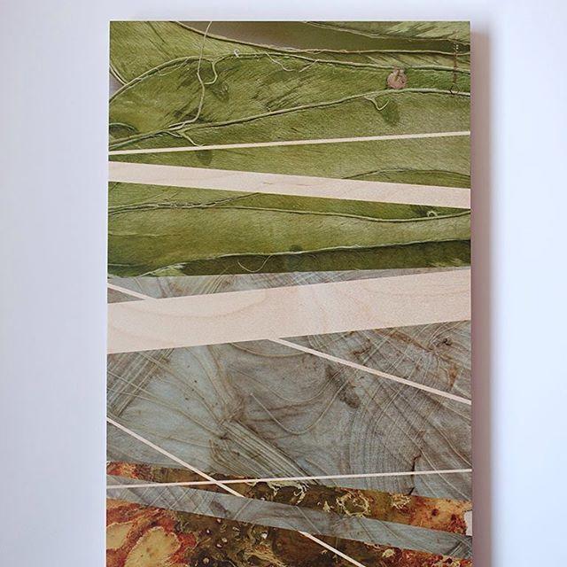 Organisch en abstract detail. Print op hout van tuinbonen, venkel en knolselderij. Het werk is nog niet af, er komt nog een toevoeging van verf bij. Op zoek naar harmonie tussen organische patronen van de groente en de harde lijnen ernaast. De kleur van het hout werkt mee in de compositie. Formaat 75x30 cm. #angeliquevandervalk #vegetableworks #photography #art #abstractart #abstract #pattern #natural #visualart #print #wood #lines #combination #beans #fennel #cellery #eco #ecoart #green…