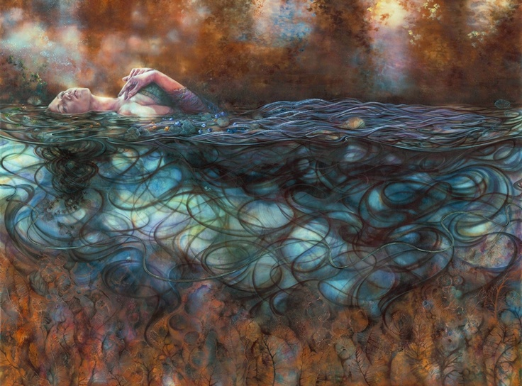 Ophelia by Kerry Darlington! Isn't this stunning?