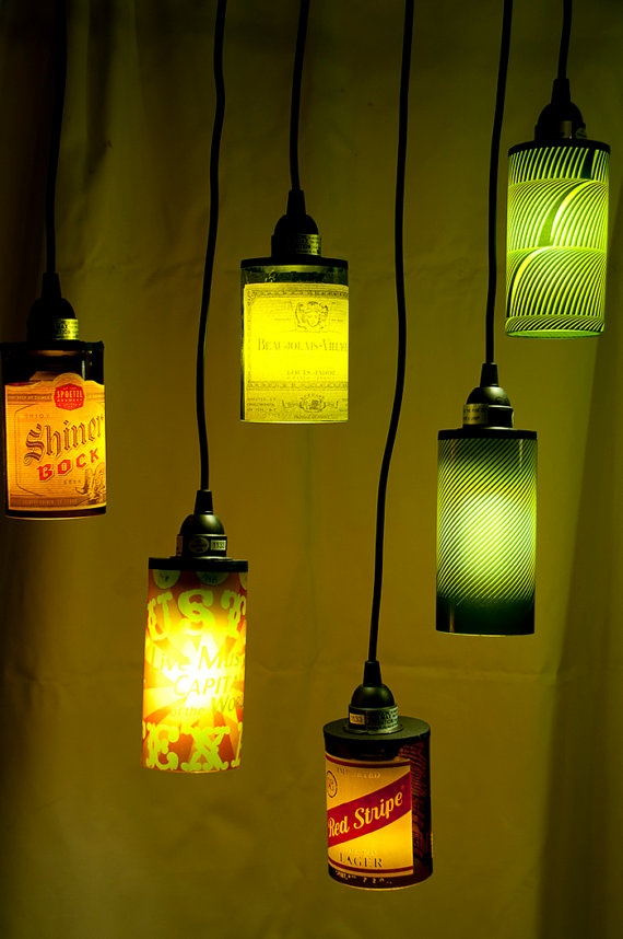 Austin Lamps by mmariamaria on Etsy, $35.00Austin Lamps, Etsy, Things, Wine Bottles