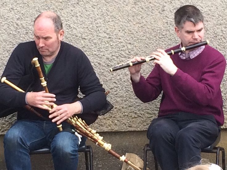 The Piper & the Flautist - Armagh County Fleadh 2015, Portmor - Blackwatertown