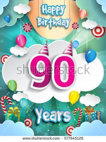 más de 1000 ideas sobre glückwünsche zum 90 geburtstag en