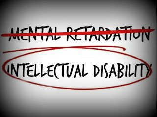 I hate the words mental retardation! I am lucky enough to work with people who have a intellectual disability and each of them teach me so much more than I could ever give to them. Love my job because it is so much more than a pay check.