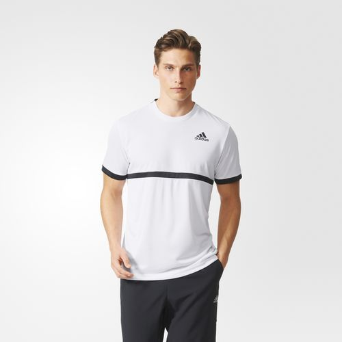 Playera Tennis Court - Blanco