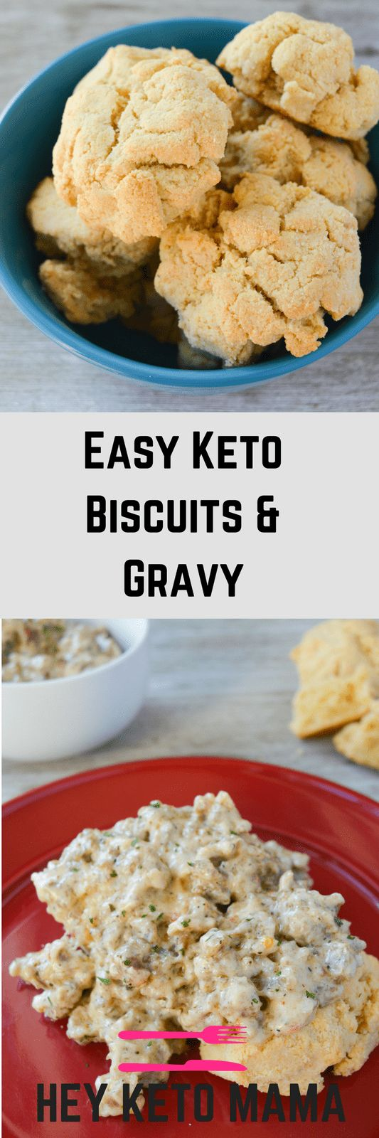 Get ready to experience ketogenic breakfast bliss. This Easy Keto Biscuits and Gravy recipe is an amazing way to start your day with a southern feel! via @heyketomama