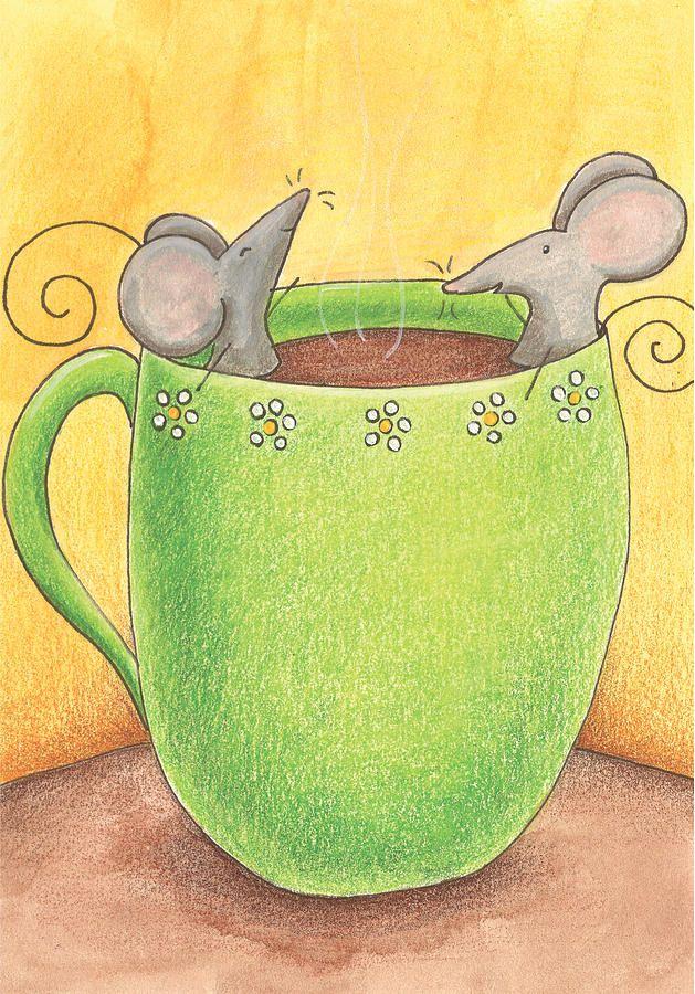 un bon bain, un bon café...