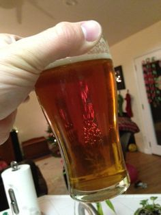14 day grain to glass, fermented with TYB Vermont Ale (Conan)