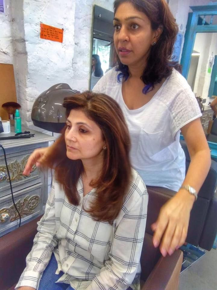 Best Hair Salon In Gurgaon Saket For Hair Curling Or Perming Curled Hairstyles Best Hair Salon Permanent Hair Curling
