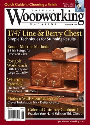 Popular Woodworking (1-year) [Print +Kindle] Magazine Subscription F ...