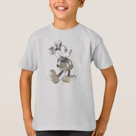 Classic Mickey | Distressed T-Shirt - tap, personalize, buy right now!