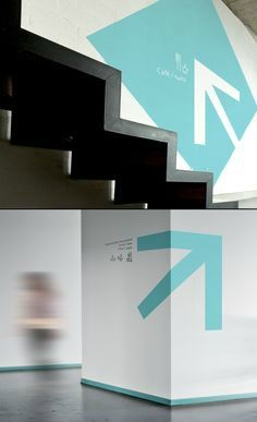 Fresh way-finding design - office interiors, interior design, interior graphics, signage, directional signage