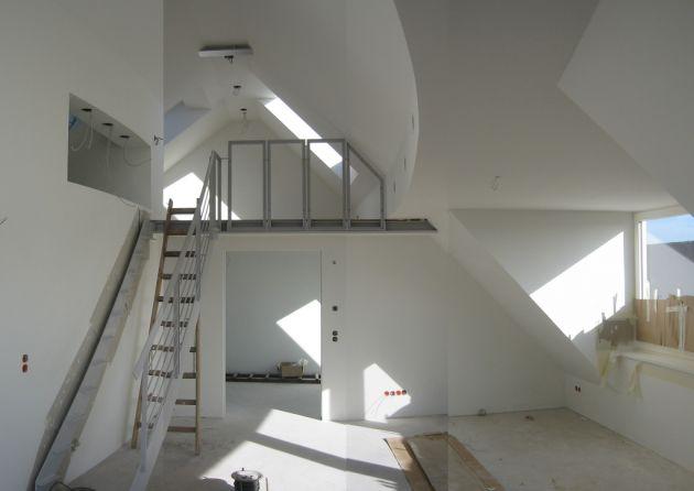 Die 25+ Besten Ideen Zu Dachgeschosswohnung Auf Pinterest ... Coole Ideen Innenausbau
