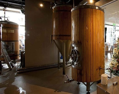 "James Squire Brewhouse at King Street Wharf ... popular with thirsty ""suits""."
