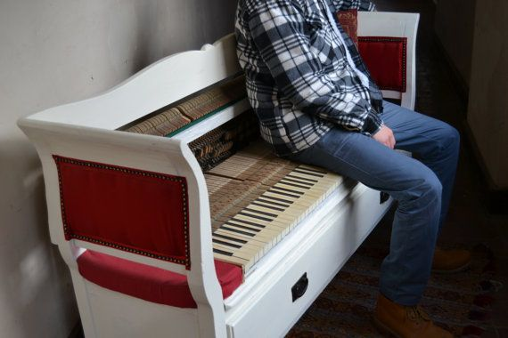 Best 25 Piano Bench Ideas On Pinterest Upholstered
