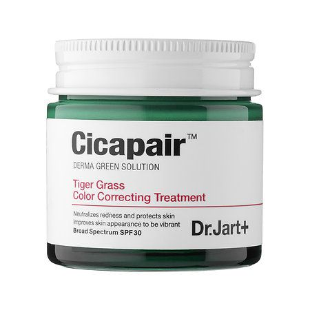 Shop Dr. Jart+'s Cicapair™ Tiger Grass Color Correcting Treatment SPF 30 at Sephora. The all-in-one treatment restores skin and conceals blemishes.