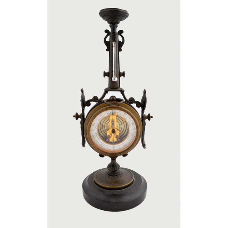 French barometer,France 1880 Dimensions: 10x25 Weight: 1100gr.