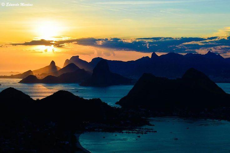 Rio de Janeiro, Brazil view from Niterói @Eduardo Martins