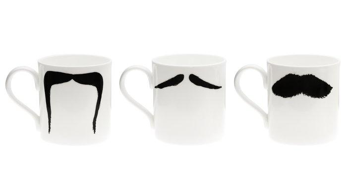 Funny Moustache Mugs