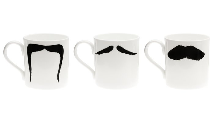 OMG! I love moustaches :}} These are so cute :}}