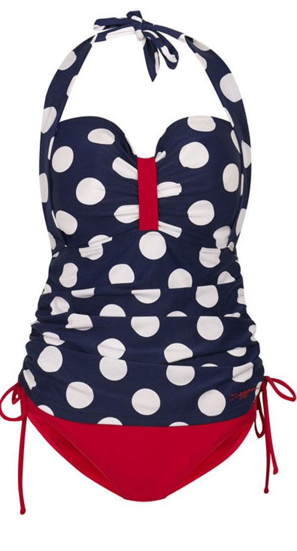 Large Plus Size Swimsuits in Cute Prints - http://boomerinas.com/2012/11/large-plus-size-bathing-suits-in-cute-prints/