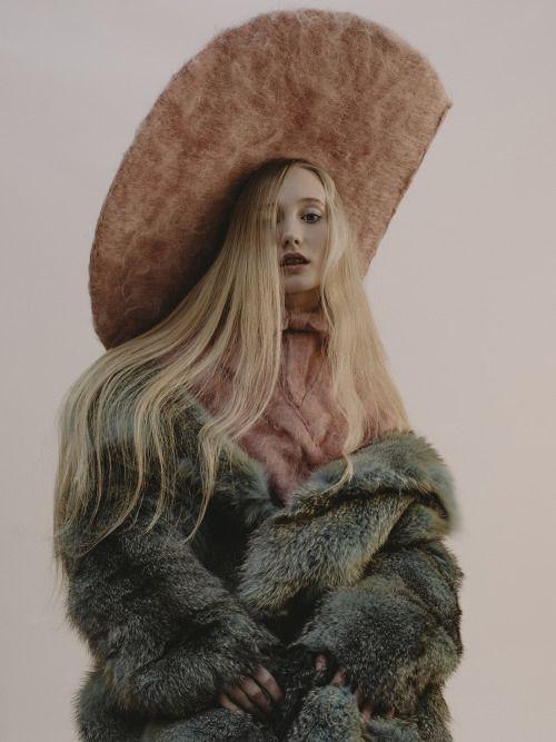 """chloeledrezen: """" Elizabeth Yeoman for Modzik shot by Chloé Le Drezen Fashion Coline Bach / Makeup Lucy Joan Pearson / Hair Anna Chapman. """""""