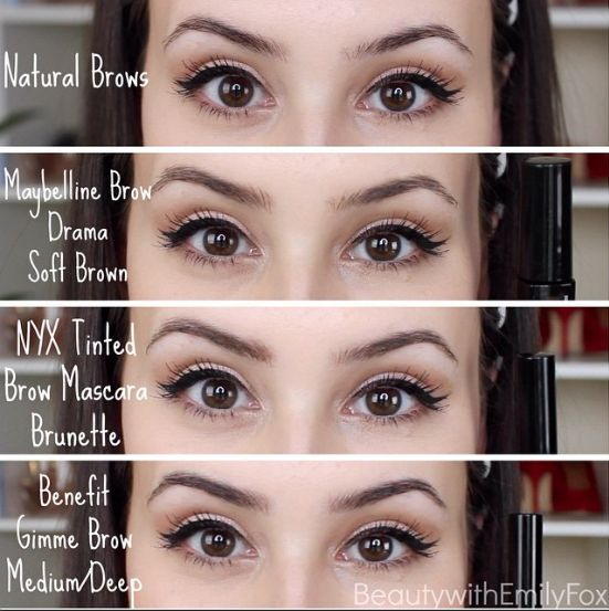Tinted Brow Gel Nyx Tinted Brow Mascara Benefit Gimme
