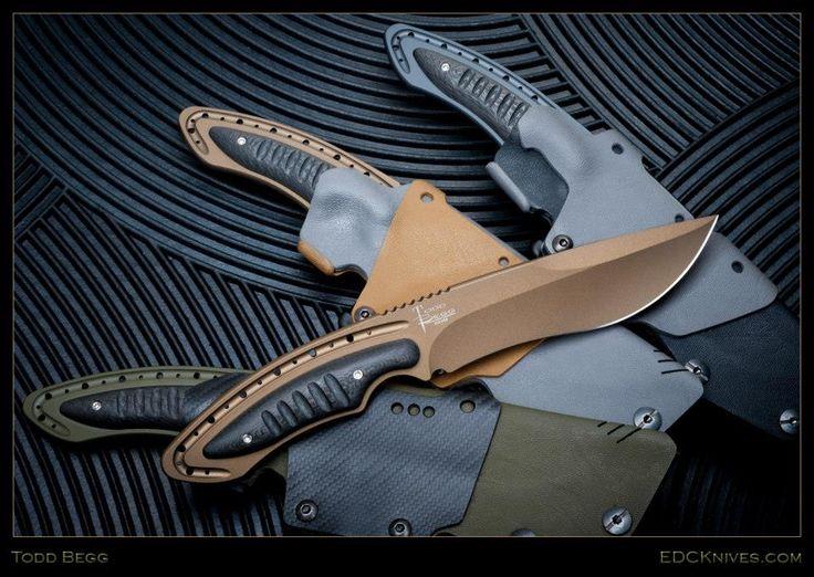 Todd Begg Knives: Anago