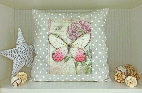 Guarda questo articolo nel mio negozio Etsy https://www.etsy.com/it/listing/517463429/cuscino-decorativo-tessuto-a-pois